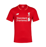 2015-2016 Liverpool Home Football Shirt