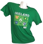 Ireland Rugby T-shirt 2015 World Cup