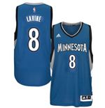 Mens Minnesota Timberwolves Zach Wiggins adidas Slate Blue New Swingman Road Jersey