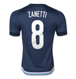 2015-16 Argentina Away Shirt (Zanetti 8)