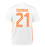 2015-2016 Holland Nike Away Shirt (Memphis 21)