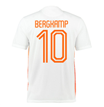 2015-2016 Holland Nike Away Shirt (Bergkamp 10) - Kids