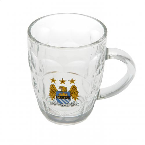 Manchester City F.C. Glass Tankard