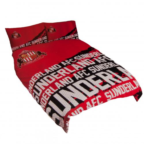 Sunderland F.C. Double Duvet Set IP