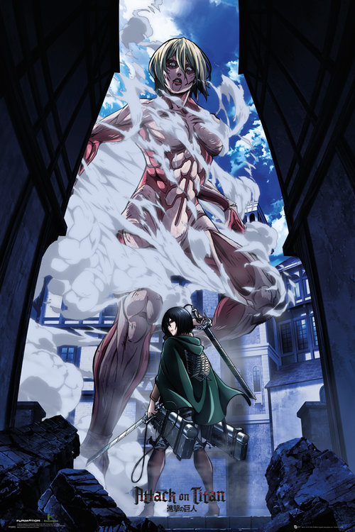 Attack On Titan Part 2 Art Maxi Poster