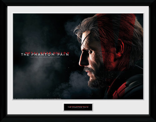 Metal Gear Solid V Snake Framed Collector Print