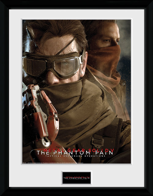 Metal Gear Solid V Goggles Framed Collector Print