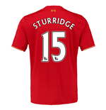 2015-16 Liverpool Home Shirt (Sturridge 15)