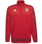 2015-2016 Bayern Munich Adidas Performance Fleece (Red)