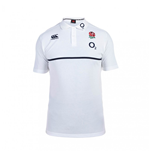2015-2016 England Rugby Cotton Training Polo Shirt (White)
