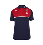 2015-2016 England Rugby Cotton Training Polo Shirt (Navy)