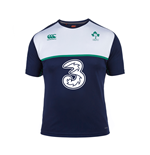 2015-2016 Ireland Rugby Poly Training Tee (Navy)
