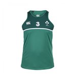 2015-2016 Ireland Rugby Poly Singlet (Green)