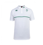 2015-2016 Ireland Rugby Cotton Training Polo Shirt (White)