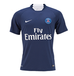 2015-2016 PSG Nike Pre-Match Training Shirt (Navy)