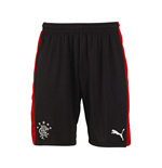 2015-2016 Rangers Away Football Shorts (Black)