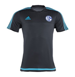 2015-2016 Schalke Adidas Training Shirt (Grey) - Kids