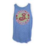 BROOKLYN BREWERY Summer Ale Men's Blue Tank Top