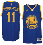 Mens Klay Thompson Golden State Warriors adidas Royal Blue New Swingman Road Jersey