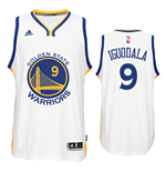 Mens Golden State Warriors Andre Iguodala adidas White New Swingman Home Jersey