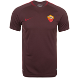 2015-2016 AS Roma Nike Training Shirt (Mahogany) - Kids