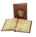Game of Thrones Notebook with with Light Lannister