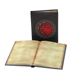 Game of Thrones Notebook with with Light Targaryen