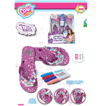 Violetta Flip Flops - Color Me Mine