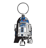 Star Wars Rubber Keychain - R2 D2