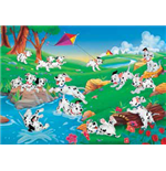 One Hundred and One Dalmatians Puzzles 142446