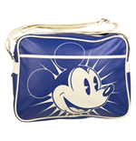 Disney Retro Messenger Bag - Mickey Blue