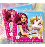Mia and me 20 Paper Napkins - Double Layer - 33 x 33 cm