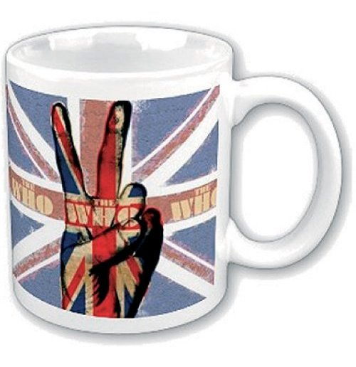 The Who Mug - Peace Fingers