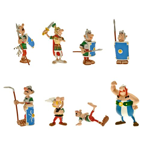 Asterix obelix 8 figures for only 1984 at merchandisingplaza us asterix obelix 8 figures altavistaventures Gallery