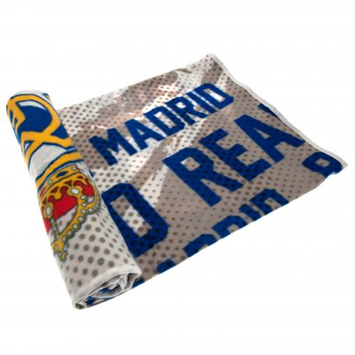 Real Madrid F.C. Fleece Blanket IP