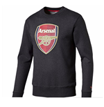 2015-2016 Arsenal Puma Fan Sweater (Dark Grey)