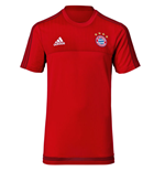 2015-2016 Bayern Munich Adidas Training Tee (Red)