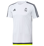 2015-2016 Real Madrid Adidas Training Shirt (White) - Kids