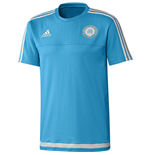 2015-2016 Marseille Adidas Training Tee (Blue)