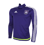2015-2016 Anderlecht Adidas Training Top (Purple)