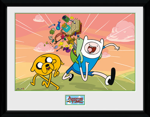 Adventure Time Finn & Jake Framed Collector Print