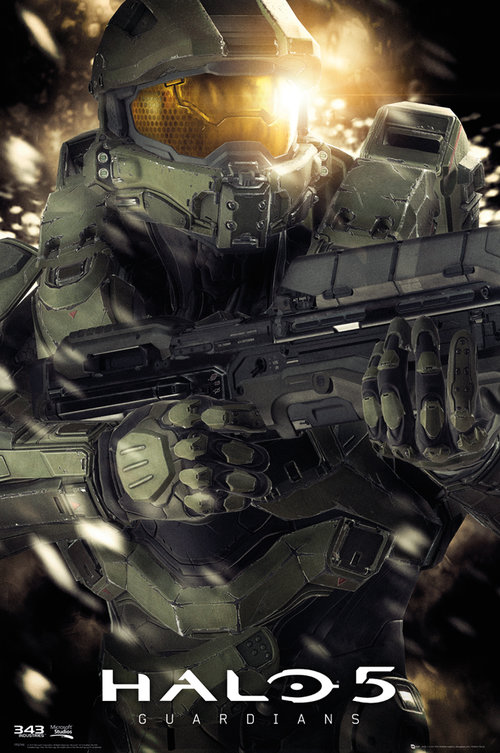 Halo 5 Master Chief Maxi Poster