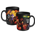 2000AD Abc Warriors Mug Team