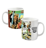 2000AD Judge Death Mug Comic Strip