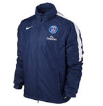 2015-2016 PSG Nike Storm Fit Rain Jacket (Navy)