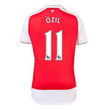 2015-16 Arsenal Home Shirt (Ozil 11) - Kids
