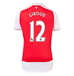 2015-16 Arsenal Home Shirt (Giroud 12)