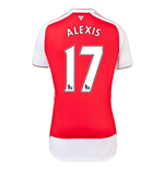 2015-16 Arsenal Home Shirt (Alexis 17)