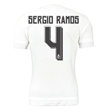2015-16 Real Madrid Home Shirt (Sergio Ramos 4)