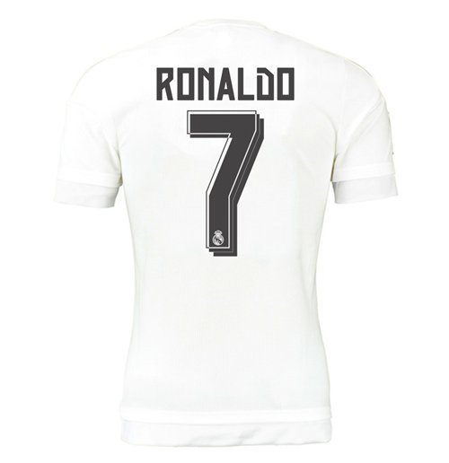 2015-16 Real Madrid Home Shirt (Ronaldo 7) - Kids